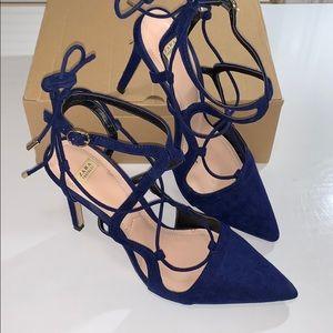 Zara Shoes Black Beige T Strap Heels Poshmark